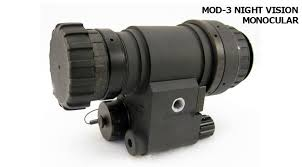 AB Night Vision MOD3 Bravo Monocular Modular Night Vision Monocular