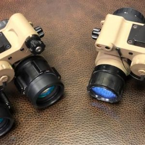 WO Sentinel Binocular Night Vision System Up-Armored Aviation-Style Goggle